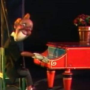 The legendary German puppeteer Albrecht Roser. Click the link to see the full documentary. https://youtu.be/WhHSp8SZxfc
