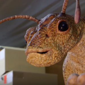 Some of effects legend Rick Baker's most memorable work was in the Men in Black series, where his studio designed and created the fantastic alien creatures featured in the films. We chat with Rick about the practical fabrication of the memorable worm aliens, and a giant bug animatronic that never made it to screen. So many wonderful stories!