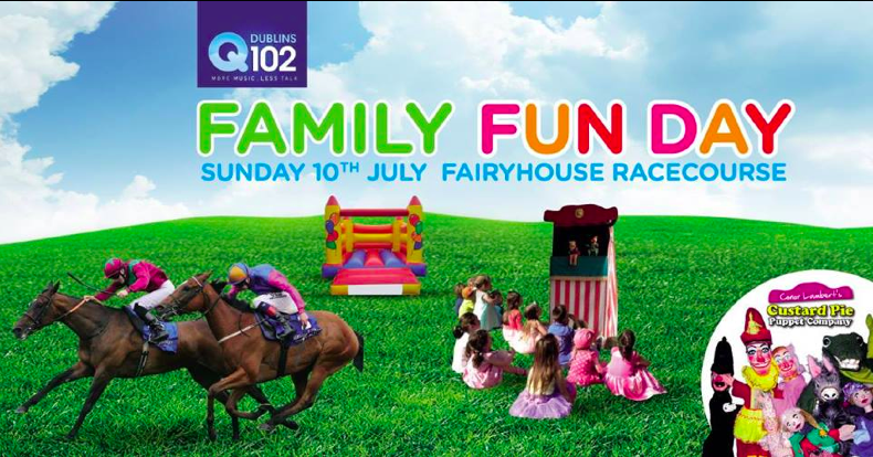 Come and see Custard Pie Puppets this Sunday in Fairyhouse as part of Family Fun Day!
