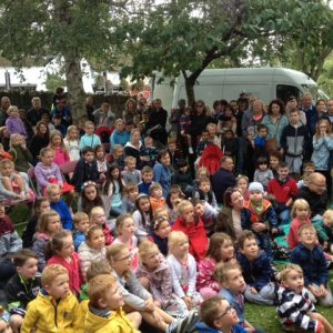 Thanks to all those hundreds of people who came to see us in Lucan Festival... You were an amazing!